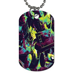 Items Headphones Camcorders Cameras Tablet Dog Tag (two Sides) by Simbadda