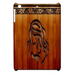 Pattern Shape Wood Background Texture Apple Ipad Mini Hardshell Case by Simbadda