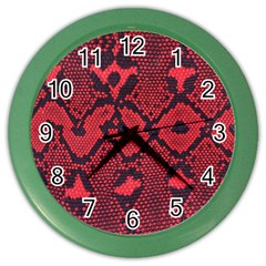 Leather Point Surface Color Wall Clocks by Simbadda