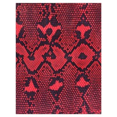 Leather Point Surface Drawstring Bag (large) by Simbadda
