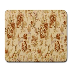 Patterns Flowers Petals Shape Background Large Mousepads by Simbadda