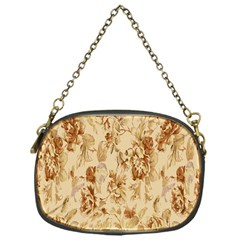 Patterns Flowers Petals Shape Background Chain Purses (one Side)  by Simbadda