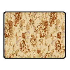 Patterns Flowers Petals Shape Background Fleece Blanket (small) by Simbadda
