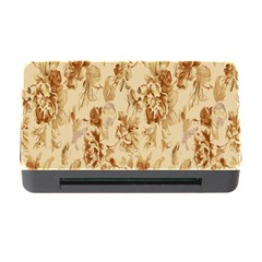 Patterns Flowers Petals Shape Background Memory Card Reader With Cf by Simbadda