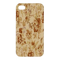 Patterns Flowers Petals Shape Background Apple Iphone 4/4s Premium Hardshell Case by Simbadda