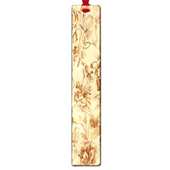 Patterns Flowers Petals Shape Background Large Book Marks by Simbadda