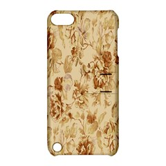 Patterns Flowers Petals Shape Background Apple Ipod Touch 5 Hardshell Case With Stand by Simbadda