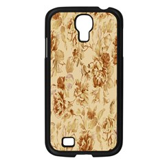 Patterns Flowers Petals Shape Background Samsung Galaxy S4 I9500/ I9505 Case (black) by Simbadda