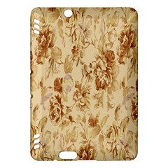 Patterns Flowers Petals Shape Background Kindle Fire Hdx Hardshell Case by Simbadda