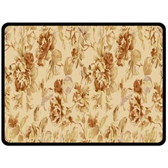 Patterns Flowers Petals Shape Background Double Sided Fleece Blanket (large)  by Simbadda