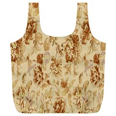 Patterns Flowers Petals Shape Background Full Print Recycle Bags (l)  by Simbadda