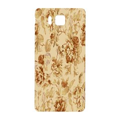 Patterns Flowers Petals Shape Background Samsung Galaxy Alpha Hardshell Back Case by Simbadda