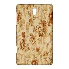 Patterns Flowers Petals Shape Background Samsung Galaxy Tab S (8 4 ) Hardshell Case  by Simbadda
