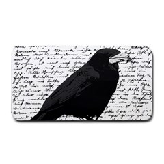 Black Raven  Medium Bar Mats by Valentinaart