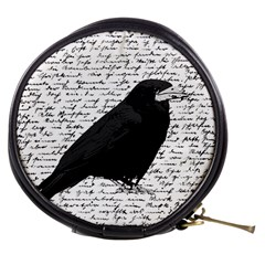 Black Raven  Mini Makeup Bags by Valentinaart