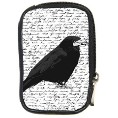 Black Raven  Compact Camera Cases by Valentinaart