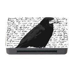 Black Raven  Memory Card Reader With Cf by Valentinaart