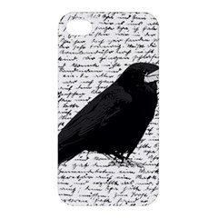 Black Raven  Apple Iphone 4/4s Hardshell Case by Valentinaart