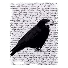Black Raven  Apple Ipad 3/4 Hardshell Case by Valentinaart
