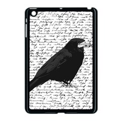 Black Raven  Apple Ipad Mini Case (black) by Valentinaart
