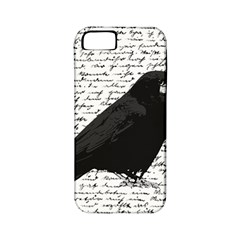 Black Raven  Apple Iphone 5 Classic Hardshell Case (pc+silicone) by Valentinaart