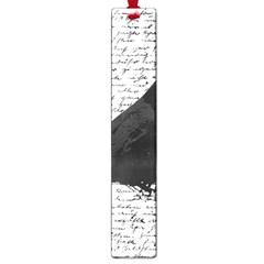Black Raven  Large Book Marks by Valentinaart