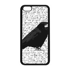 Black Raven  Apple Iphone 5c Seamless Case (black) by Valentinaart