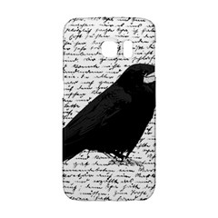 Black Raven  Galaxy S6 Edge by Valentinaart