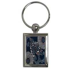 Patterns Dark Shape Surface Key Chains (rectangle)  by Simbadda