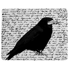 Black Raven  Jigsaw Puzzle Photo Stand (rectangular) by Valentinaart