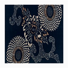 Patterns Dark Shape Surface Medium Glasses Cloth (2 Side) by Simbadda