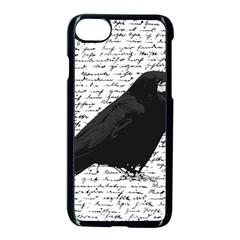 Black Raven  Apple Iphone 7 Seamless Case (black) by Valentinaart