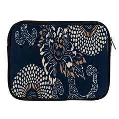 Patterns Dark Shape Surface Apple Ipad 2/3/4 Zipper Cases by Simbadda