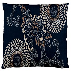Patterns Dark Shape Surface Standard Flano Cushion Case (one Side) by Simbadda