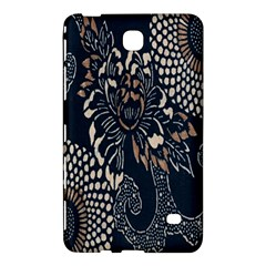 Patterns Dark Shape Surface Samsung Galaxy Tab 4 (7 ) Hardshell Case  by Simbadda