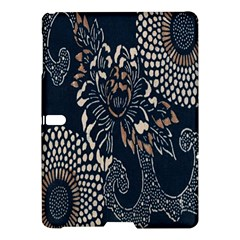 Patterns Dark Shape Surface Samsung Galaxy Tab S (10 5 ) Hardshell Case  by Simbadda
