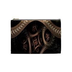 Patterns Dive Background Cosmetic Bag (medium)  by Simbadda