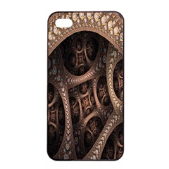 Patterns Dive Background Apple Iphone 4/4s Seamless Case (black) by Simbadda