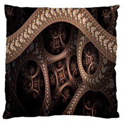 Patterns Dive Background Large Cushion Case (two Sides) by Simbadda