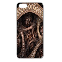 Patterns Dive Background Apple Seamless Iphone 5 Case (clear) by Simbadda