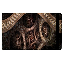 Patterns Dive Background Apple Ipad 2 Flip Case by Simbadda