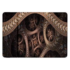 Patterns Dive Background Samsung Galaxy Tab 8 9  P7300 Flip Case by Simbadda