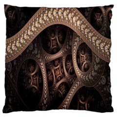 Patterns Dive Background Standard Flano Cushion Case (one Side) by Simbadda