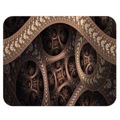 Patterns Dive Background Double Sided Flano Blanket (medium)  by Simbadda