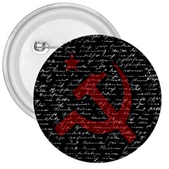 Communism  3  Buttons by Valentinaart