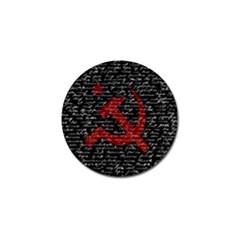 Communism  Golf Ball Marker (4 Pack) by Valentinaart