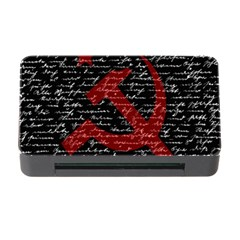 Communism  Memory Card Reader With Cf by Valentinaart