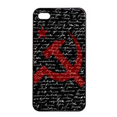 Communism  Apple Iphone 4/4s Seamless Case (black) by Valentinaart