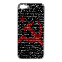 Communism  Apple Iphone 5 Case (silver) by Valentinaart