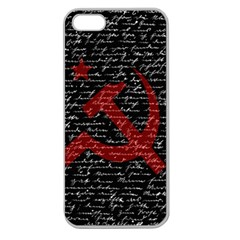 Communism  Apple Seamless Iphone 5 Case (clear) by Valentinaart